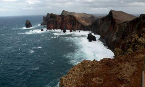 Zdjecie PORTUGALIA / Madera / wschód wyspy / Płw. św. Wawrzyńca
