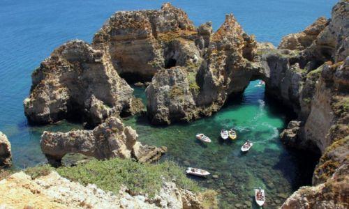 Zdjęcie PORTUGALIA / Algarve / Lagos / Ukryta zatoczka