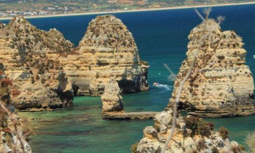 Zdjęcie PORTUGALIA / Algarve / Lagos / Klify Lagos