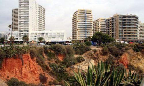 Zdjęcie PORTUGALIA / algarve / praia de rocha / schody