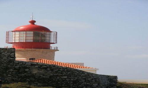 Zdjecie PORTUGALIA / algarve / cap St Vincent / najsilniejsza latarnia w Europie