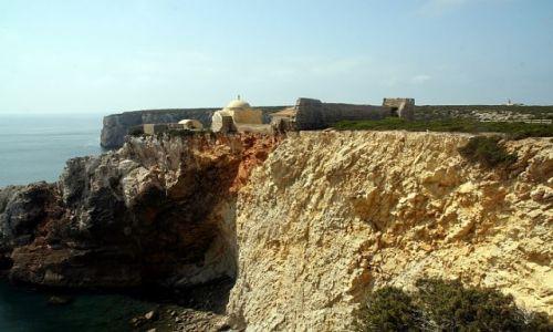 Zdjęcie PORTUGALIA / algarve / cap St Vincent / fort strzeze Europy