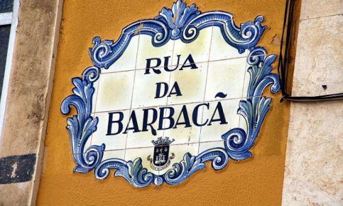 Zdjecie PORTUGALIA / algarve / Loule / tabliczka z azulejos