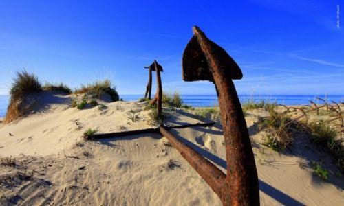 Zdjecie PORTUGALIA / Algarve / Praia de Barril / Cmentarzysko kotwic - Praia de Barril
