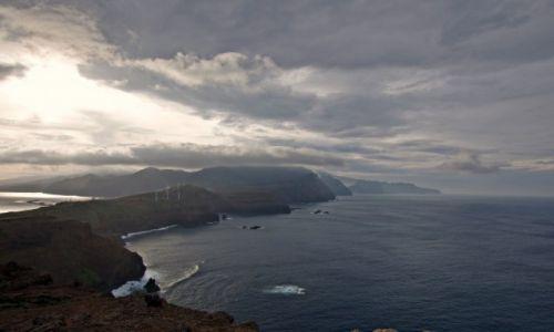 Zdjecie PORTUGALIA / Madera / Ponta de Sao Lourenco / Deszczowo