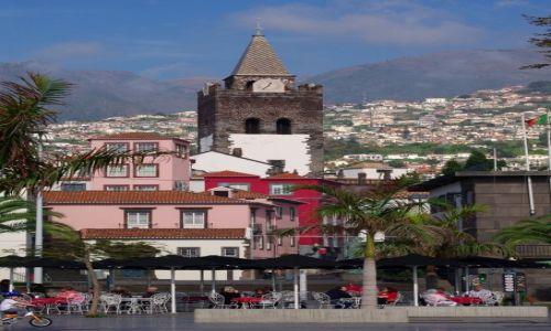 Zdjęcie PORTUGALIA / Madera / Funchal / Wieża katedry (Se)
