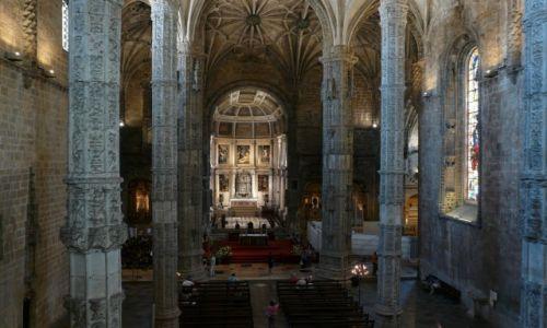 Zdjecie PORTUGALIA / Portugalia / Lizbona / Klasztor Hieronimitów