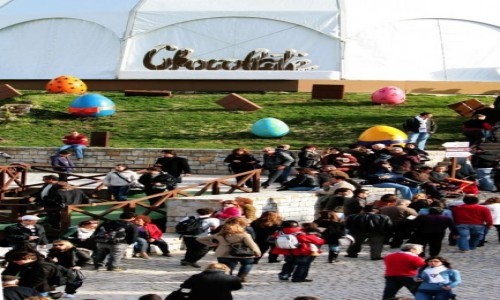 PORTUGALIA / Region Lisboa / Obidos / International Chocolate Festival w Obidos