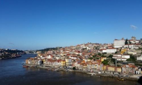 PORTUGALIA / - / na moście Dom Luis / Porto