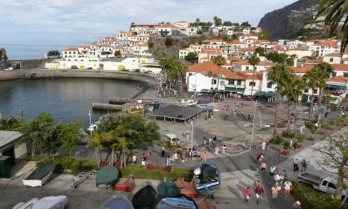 Zdjecie PORTUGALIA / Madera / Camara de Lobos / Zatoka