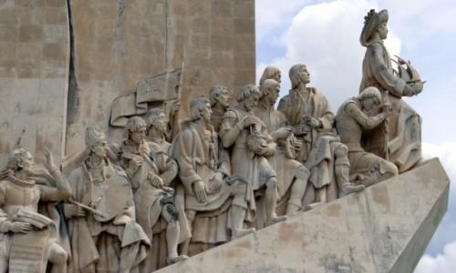 PORTUGALIA / Lisboa / Belém / Pomnik Odkrywców