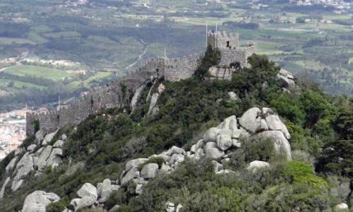 Zdjecie PORTUGALIA / Lisboa / Sintra / Castelo dos Mouros