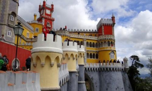 Zdjęcie PORTUGALIA / Lisboa / Sintra / Zamek Pena II