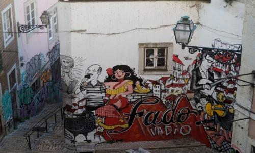 Zdjecie PORTUGALIA / zachodznia część Płw. Iberyjskiego / Lizbona / Alfama