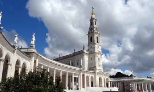 PORTUGALIA / Santar� / F�tima / Sanktuarium MB Fatimskiej