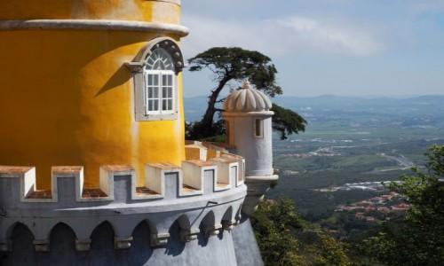 Zdjecie PORTUGALIA / zachodnia część Półwyspu Iberyjskiego / Sintra / Pałac Pena