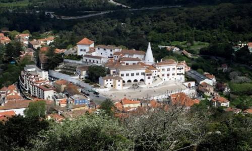 PORTUGALIA / zachodnia część Półwyspu Iberyjskiego / Sintra / Pałac Narodowy Sintra