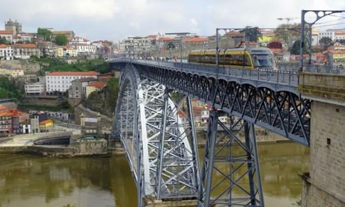 PORTUGALIA / p�noc / Porto / Ponte Dom Lu�s