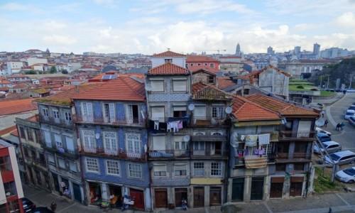 PORTUGALIA / p�noc / Porto-okolice katedry / Porto mniej znane