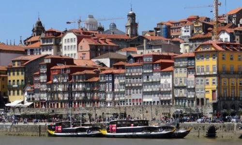 PORTUGALIA / Porto / Ribeira / Nabrzeże północne