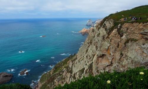 PORTUGALIA / zachodnia cz�� P�wyspu Iberyjskiego / Cabo da Roca / Cabo da Roca