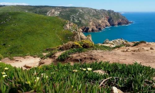 PORTUGALIA / zachodnia część Półwyspu Iberyjskiego / Cabo da Roca / Cabo da Roca