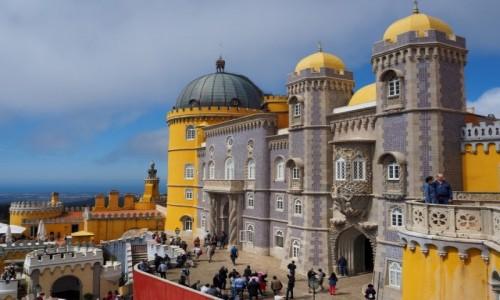 Zdjęcie PORTUGALIA / zachodnia część Półwyspu Iberyjskiego / Sintra / Pałac Pena
