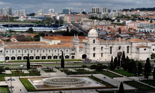Zdjecie PORTUGALIA / zachodnia część Półwyspu Iberyjskiego / Lizbona / Klasztor Hieronimitów