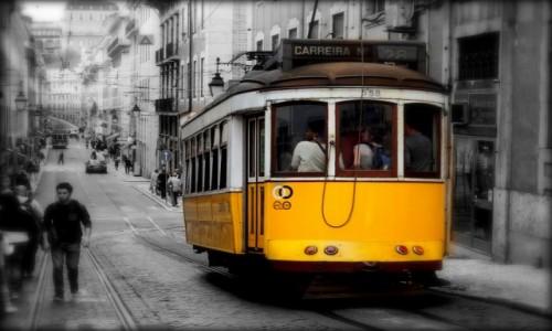 Zdjęcie PORTUGALIA / zachodnia część Półwyspu Iberyjskiego / Lizbona / Obrazek z Lizbony