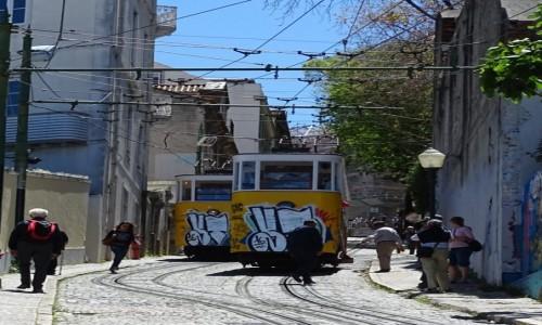 Zdjęcie PORTUGALIA / Lizbona / Lizbona / Lizbońskie tramwaje 2