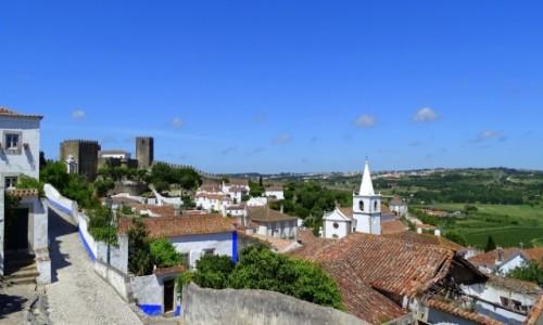 PORTUGALIA / Centrum / Óbidos / Miasto portugalskich królowych