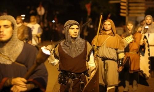PORTUGALIA / Porto e Norte / Santa Maria da Feira / Średniowieczni rycerze - festiwal Viagem Medieval em Terra de Santa Maria