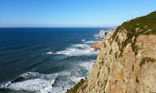PORTUGALIA / Park Narodowy Sintra-Cascais / Cabo da Roca / Niebezpieczne ścieżki