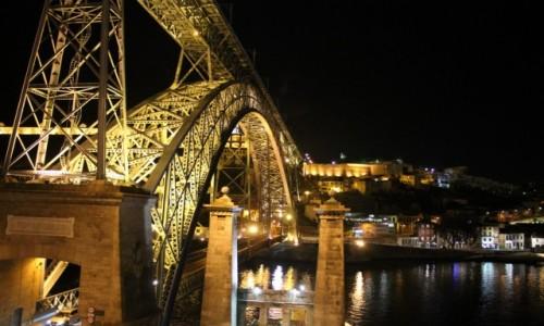 PORTUGALIA / Porto / Porto / Porto noca