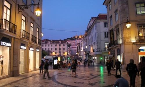 PORTUGALIA / Lisbona / lisbonska ulica / Lisbona