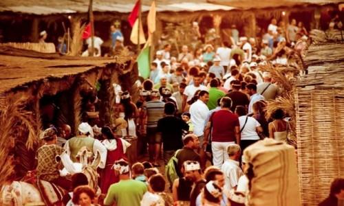 PORTUGALIA / Algarve / Castro Marim / Dias Medievais w Castro Marim