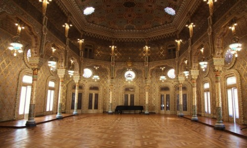 Zdjecie PORTUGALIA / Porto / Palacio da Bolsa / Sala arabska