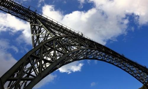 Zdjęcie PORTUGALIA / Porto / Douro / Ponte Maria Pia