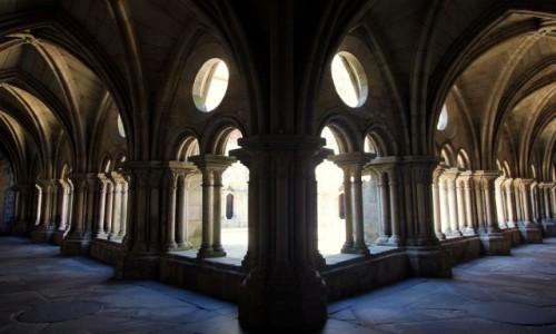 Zdjecie PORTUGALIA / Porto / Katedra Se do Porto / Gotyckie kru�ga