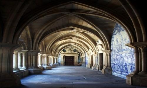 PORTUGALIA / Porto / Katedra Se do Porto / Gotyk