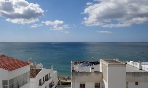 Zdjęcie PORTUGALIA / Algarve / Albufeira / Flagi sygnałowe