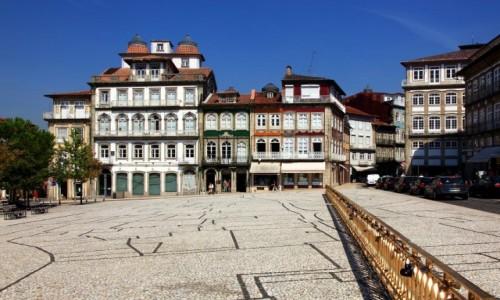 PORTUGALIA / Dystrykt Braga / Guimarães / Plac miejski