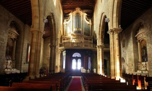 Zdjęcie PORTUGALIA / Dystrykt Braga / Guimarães / Organy kościoła Nossa Senhora da Oliveira