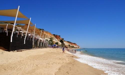Zdjecie PORTUGALIA / Algarve / Olhos de Água / Praia da Falésia - Bar