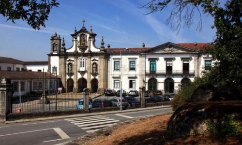 Zdjęcie PORTUGALIA / Dystrykt Braga / Guimarães / Kościół św. Antoniego i muzeum sztuki sakralnej
