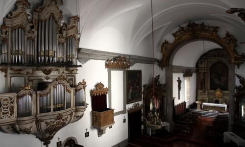 Zdjęcie PORTUGALIA / Dystrykt Braga / Guimarães / Kościół św. Antoniego, wnętrze