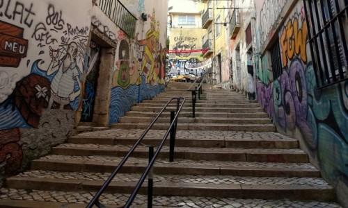 PORTUGALIA / Centrum / Lizbona - / Mouraria