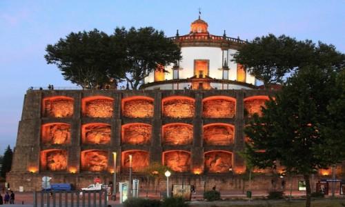 Zdjęcie PORTUGALIA / Porto / Vila Nova de Gaia / Iluminacja