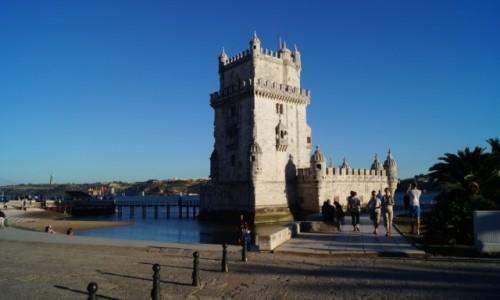 Zdjęcie PORTUGALIA / Lizbona / Belem / Wieża w Belem