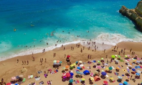 Zdjecie PORTUGALIA / Lagoa / Praia da Marinha / Pla�a Marinha